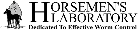Horsemen's Laboratory are Experts in Worm Control